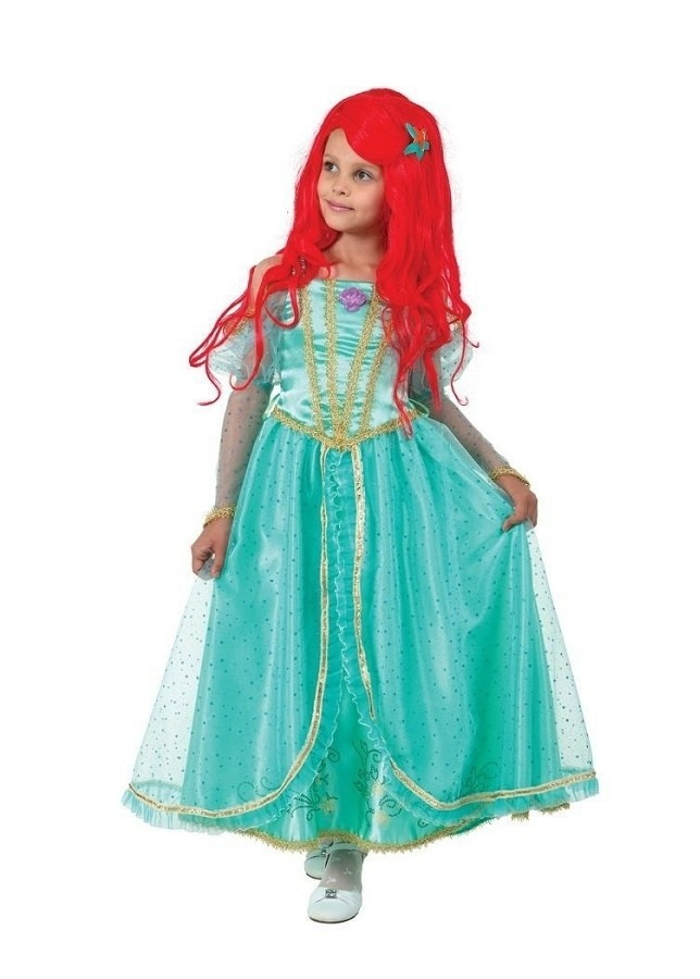 Карнавальный костюм Принцесса Ариэль (текстиль)
