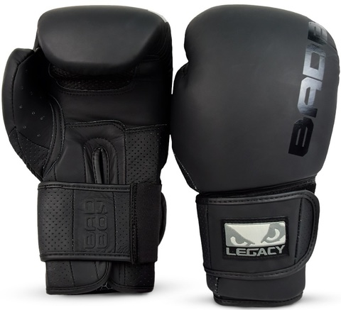Перчатки для бокса Bad Boy Legacy Prime Boxing Gloves Black/Black