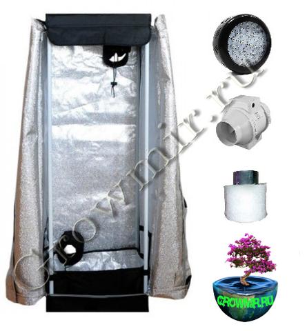 Гроутент HomeLab HL40 LED growmir.ru, growmir, гроумир, гровмир, интернет магазин, Интернет магазин оборудования для гроубоксов, выращивание растений дома, домашнее растениеводство,  Гроутент в сборе,