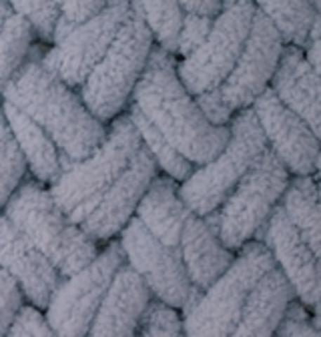Пряжа ALIZE PUFFY №87 угольно-серый