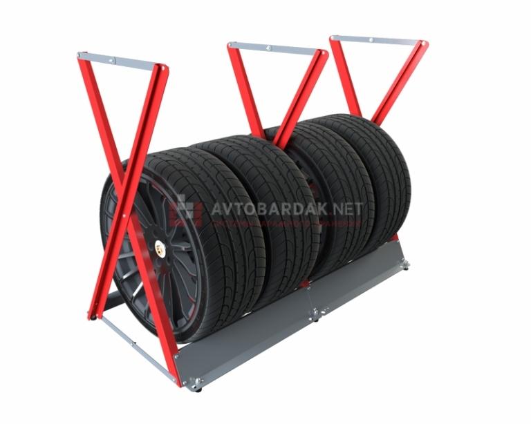 Стойка для колес горизонт (до R18 ширина до 255)