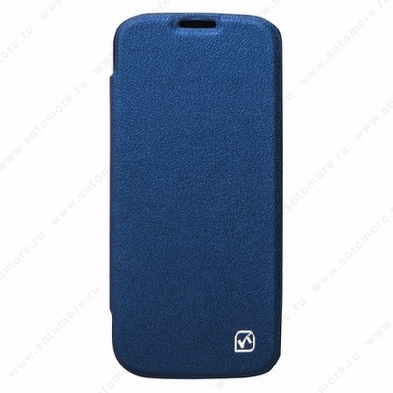 Чехол-книжка HOCO для Samsung Galaxy S4 i9500/ i9505 – HOCO Original series Classic Leather Case Deep Blue