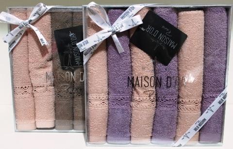 Набор махровых салфеток SENA  СЕНА 30х50  Maison Dor (Турция)