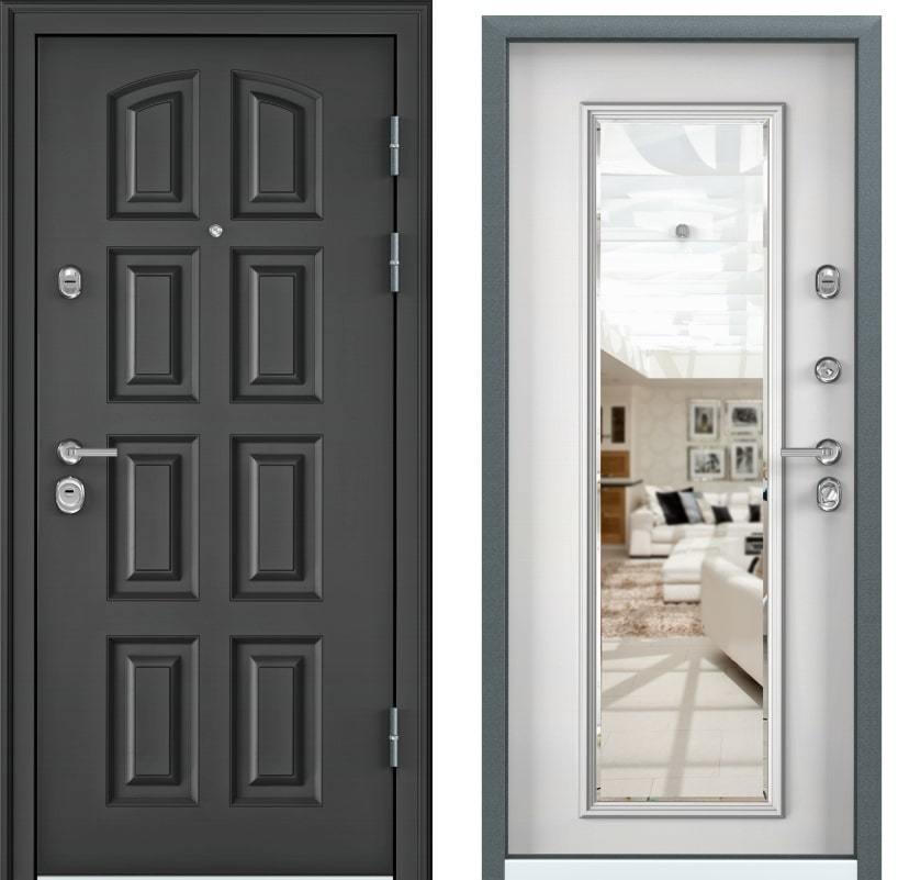 Входные двери Torex Ultimatum M PK-4U тёмный пепел KB-11 белый generated_image-13.jpg