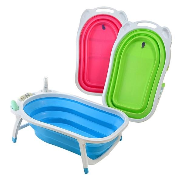 Товары для детей Детская складная ванна Folding Baby Bathtub dd3d287961facf5b38d99cd7f671f0fd.jpg