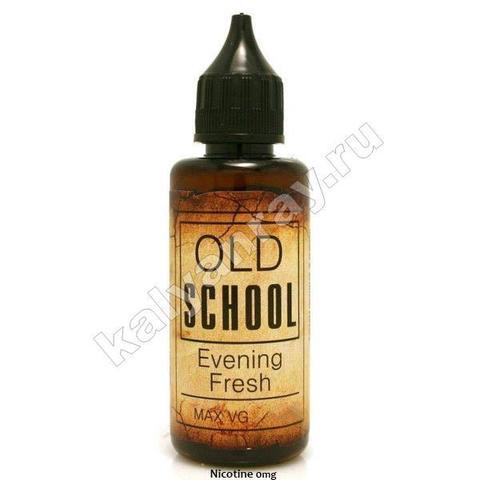 Жидкость OLD SCHOOL - Evening Fresh 0% никотина
