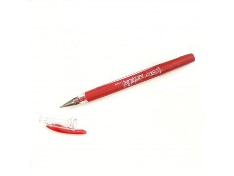 Гелиевая ручка- цвет красный-Reminisce Gel Pen- Red