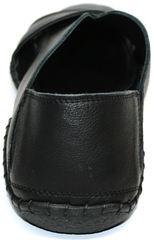 Кожаные босоножки мужские Luciano Bellini 801 Black.