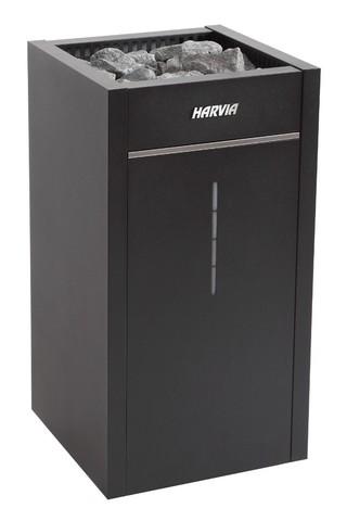 Harvia Электрическая печь Virta Combi Auto HL70SA Black HL700400SA 6,8 кВт (с парогенератором, автоматический залив воды, без пульта)