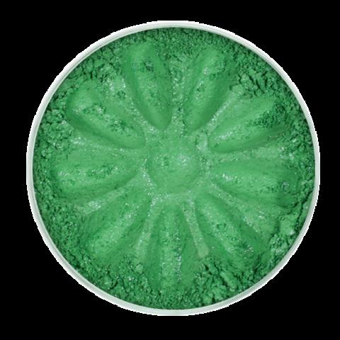 Для макияжа7: Тени минеральные для век тон 4433 Jade/ мерцающие, TM ChocoLatte, 3 мл/1,2гр