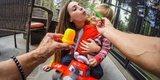 Крепление на грудь GoPro Chesty (AGCHM-001) фото ребенок