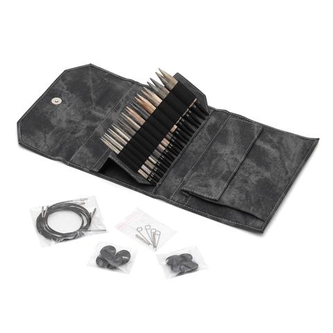 Grey Набор съемных спиц 12 см 12 пар LYKKE Driftwood
