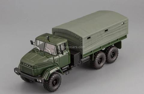 KRAZ-260 1989 dark green 1:43 Nash Avtoprom