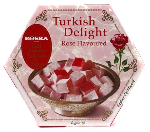 Рахат-лукум со вкусом розы, Koska, 250 г