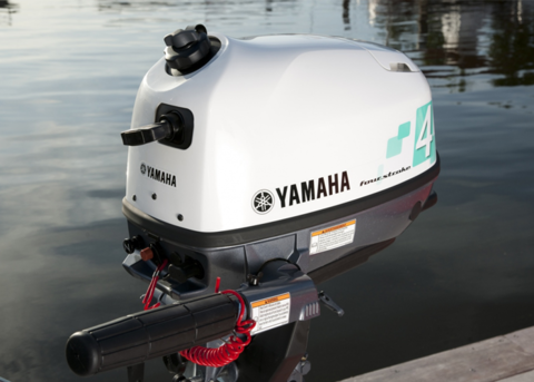 Лодочный мотор Yamaha F4 BMHS Белый