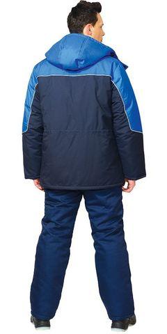 Куртка Мужская СПЕЦ Синий с васильковым