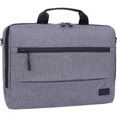 Сумка для ноутбука Bagland Континет 7 л. серый (0044069)