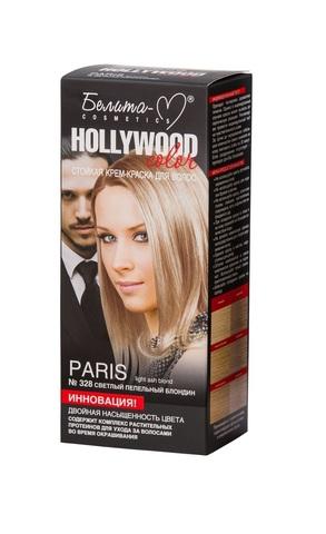Белита-М Hollywood Color Крем-краска 328 Paris Светлый пепельный блондин