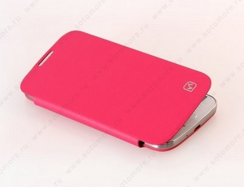 Чехол-книжка HOCO для Samsung Galaxy S4 i9500/ i9505 – HOCO Original series Classic Leather Case Rose Red