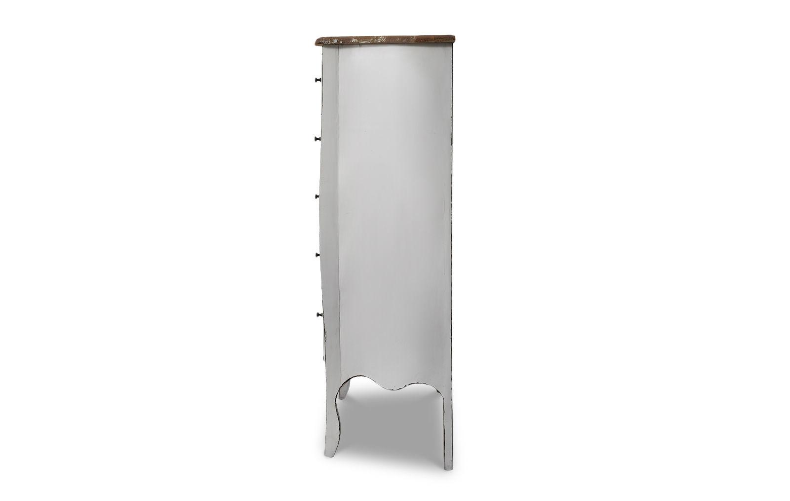 Комод вертикальный FL-7001 белый