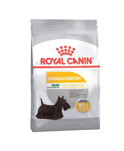 Royal Canin Mini Dermacomfort сухой корм для собак средних пород с чувствительностью кожи 3 кг