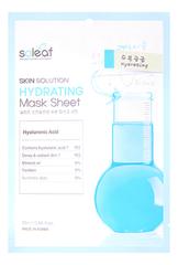Тканевая маска для лица c гиалуроновой кислотой и экстрактом алоэ Skin Solution Hydrating Mask Sheet 25мл