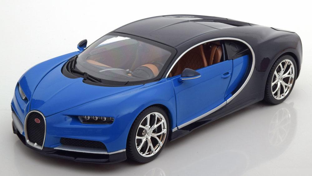 Коллекционная модель Bugatti Chiron 2016