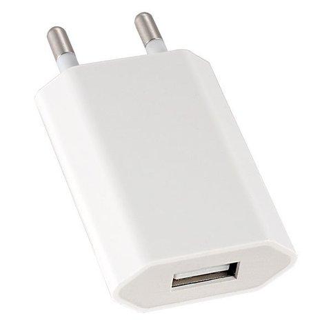СЗУ USB (длин.) 1A (500mA/h) iPhone 4