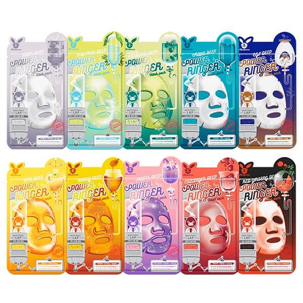 Elizavecca Hyaluronic Acid Water Deep Power Ringer Mask Pack