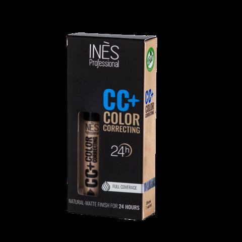 Ines Корректор жидкий CC+ Color тон 02