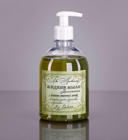 Liv delano The Apothecary Жидкое мыло деликатное с экстрактами лекарственных растений облепихи, липы, брусники и крапивы  480г