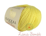 Пряжа Gazzal Baby Wool лимонный 833