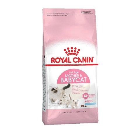 Royal Canin Mother and Babycat сухой корм для беременных, кормящих кошек и котят 2кг