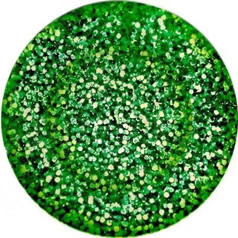 Цветная акриловая пудра  Шиммерная зеленая