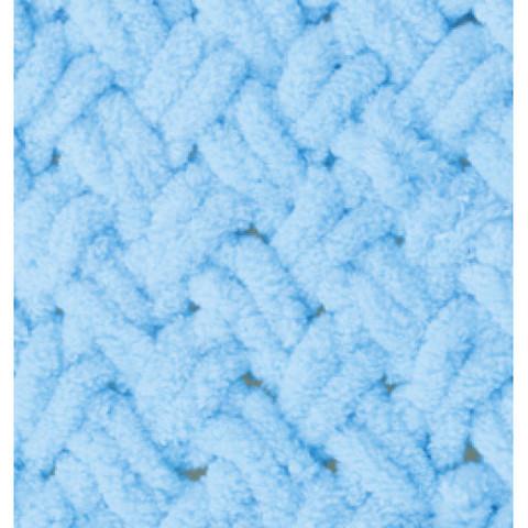 Пряжа ALIZE PUFFY №287 голубая бирюза