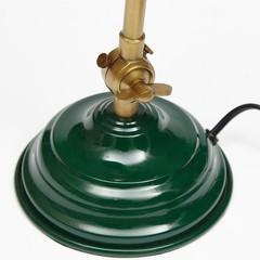Лампа настольная Secret De Maison (mod. 1001) металл, античная медь/зеленый