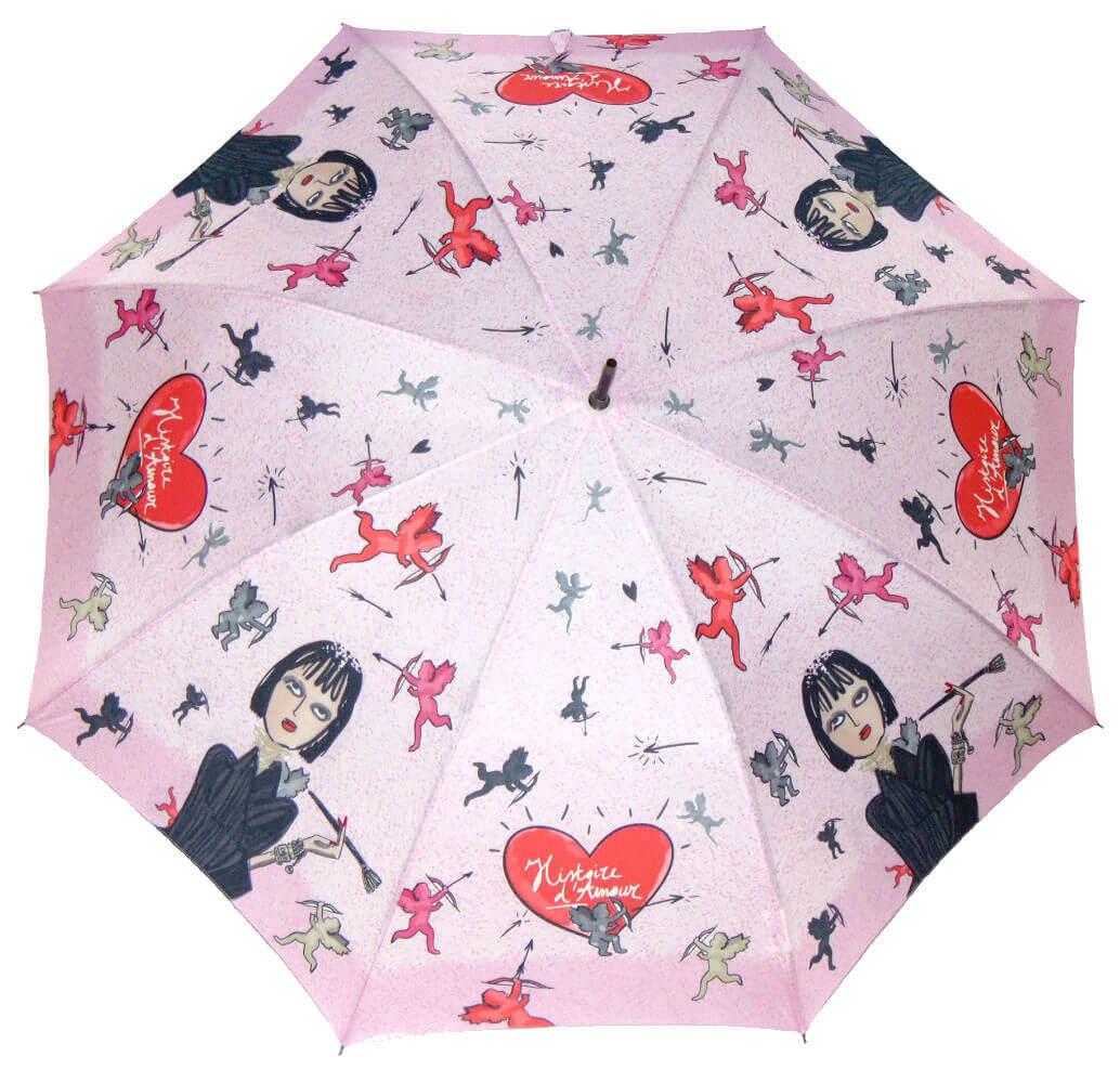 Зонт-трость Perletti Chic 21194-1 Histoire d'Amour