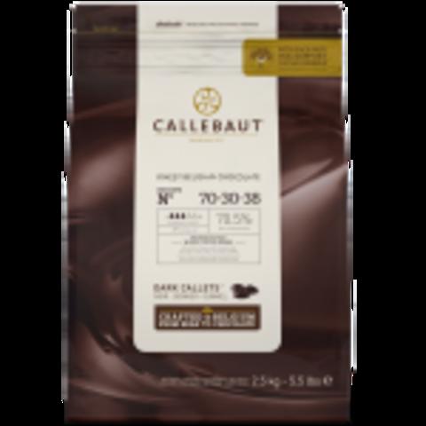 Горький Шоколад Callebaut 70,5%, 2,5 кг