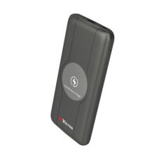 Портативное зарядное устройство ReVolter 10000Qi Power Bank Чёрный