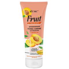 Увлажняющая пенка-сияние для умывания с абрикосом, 200 мл. Fruit Therapy для лица