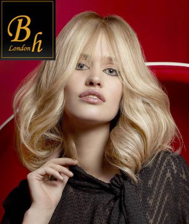 Волосы на заколках цвет #27-#613- меллированые волосы