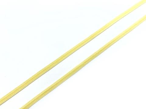 Резинка отделочная желтая 4 мм