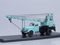 ZIL-164 Truck Crane AK-75 for exhibition VDNH turquoise Start Scale Models (SSM) 1:43