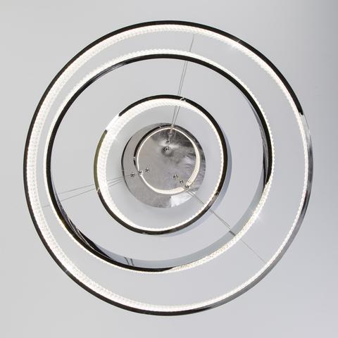 Светодиодная люстра с управлением по Wi-Fi 90276/3 хром