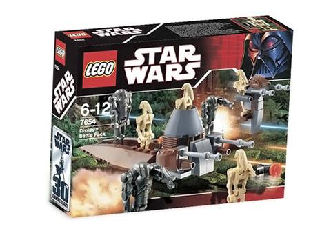 LEGO Star Wars: Боевой комплект дроидов 7654 — Droids Battle Pack Set — Лего Звёздные войны Стар ворз