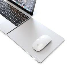 Коврик  Satechi Aluminum Mouse Pad для мышки, алюминий, серебряный 24x19 см