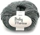 Пряжа Drops Baby Merino 20 темно-серый