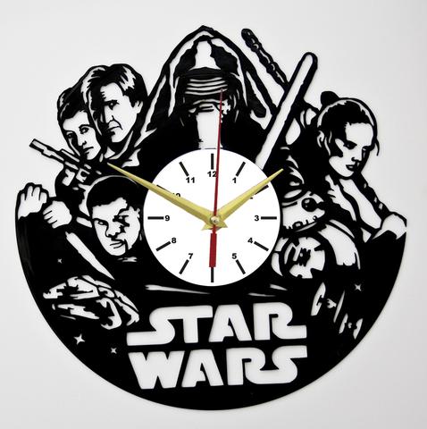 Звездные войны Часы из Пластинки — Пробуждение силы