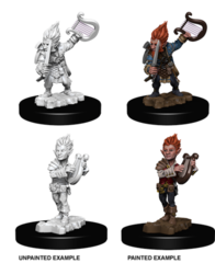 Pathfinder Deep Cuts Unpainted Miniatures - Gnome Male Bard