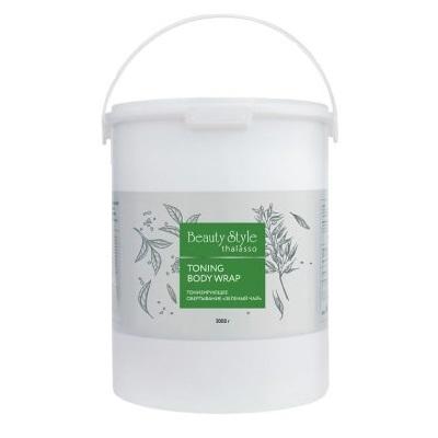 Обертывание для тела тонизирующее Зеленый чай Beauty Style Thalasso 3000г